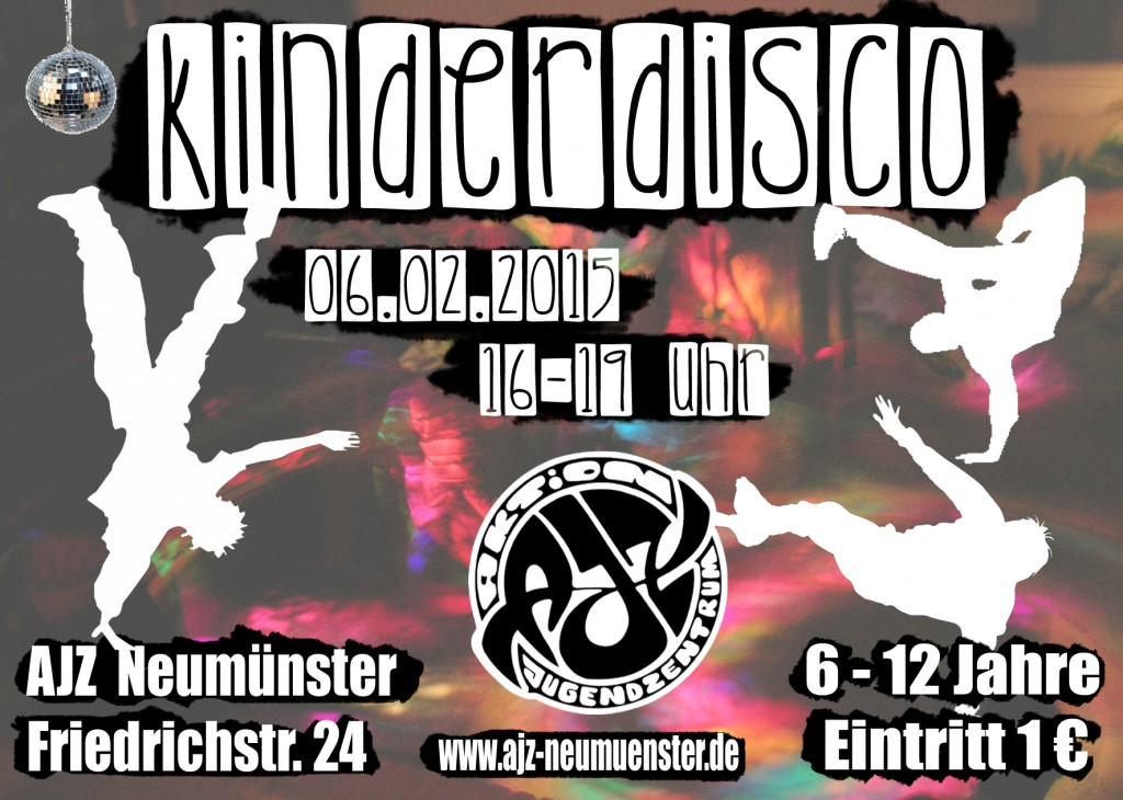 Flyer-Kinderdisco2015